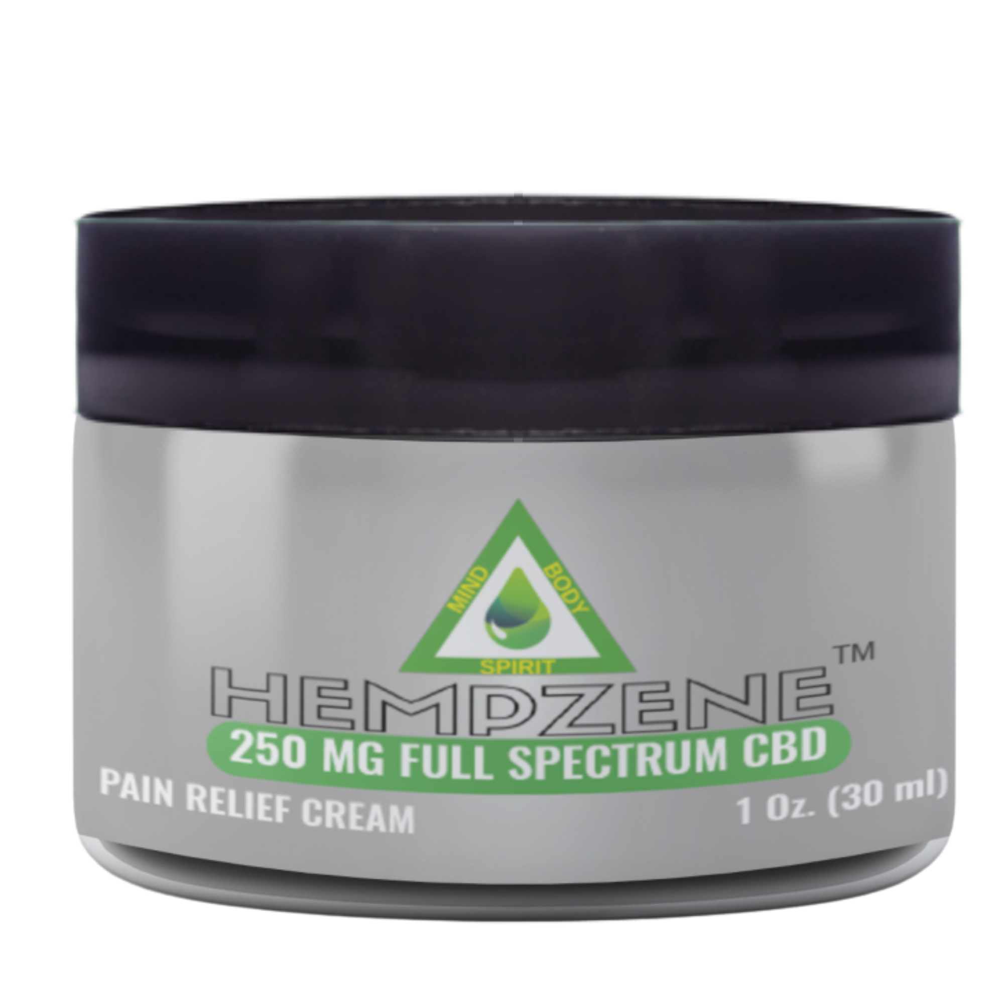 Hempzene CBD Relief Cream - 250 MG